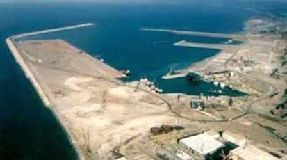 Port of Jen Jen Algeria