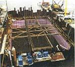 Cajones ataguía profundos en Sidney Lanier